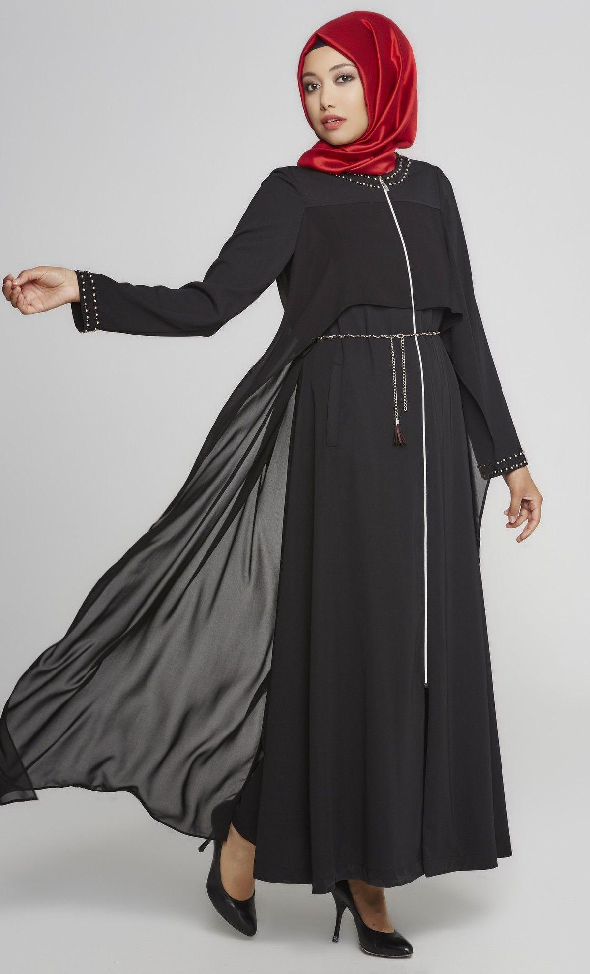 Tugba Ferace Modelleri Kiyafet Giyim Elbise