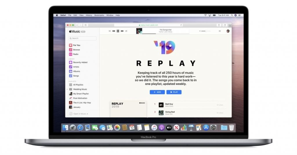Apple Music Replay compiles your mostplayed songs from