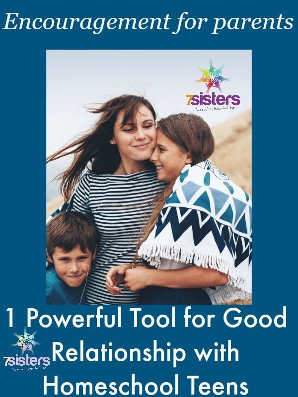Photo of 1 Powerful Tool for Good Relationship with Homeschool Teens