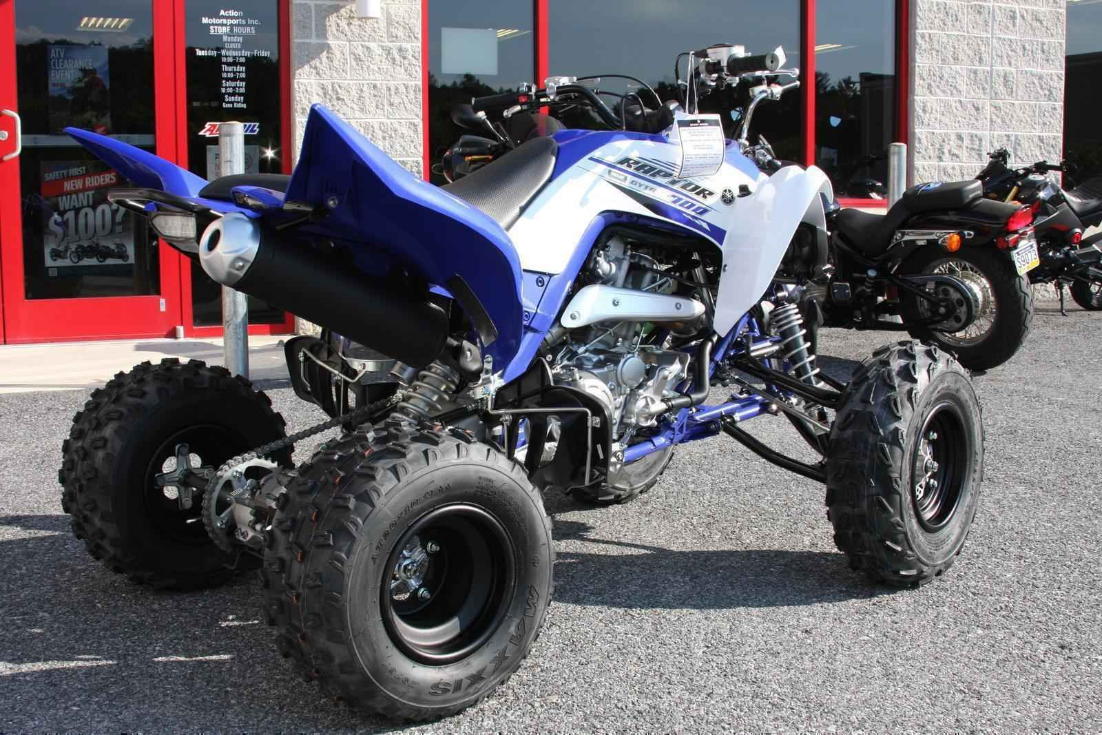 New 2016 Yamaha RAPTOR 700 ATVs For Sale in Pennsylvania