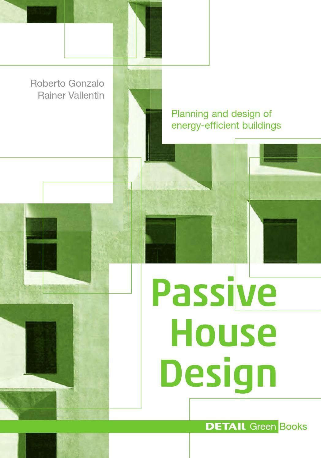 House design books -  Clippedonissuu From Detail Green Books Passive House Design