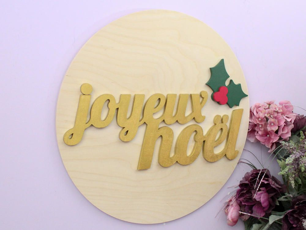 Joyeux Noel, French Christmas Decor, Christmas Signs, Holiday Decor ...