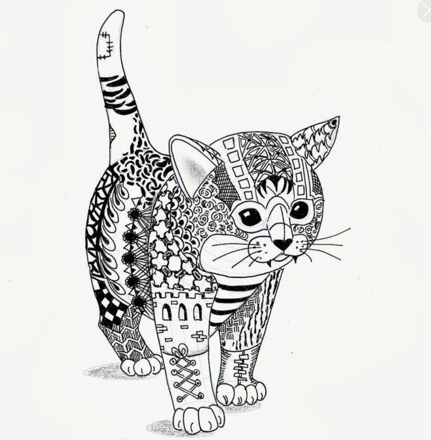 Pin Von Sakib Nisic Auf Pictures To Color Malvorlagen Tiere Zeichnungen Pinterest Ausmalbilder Katzen