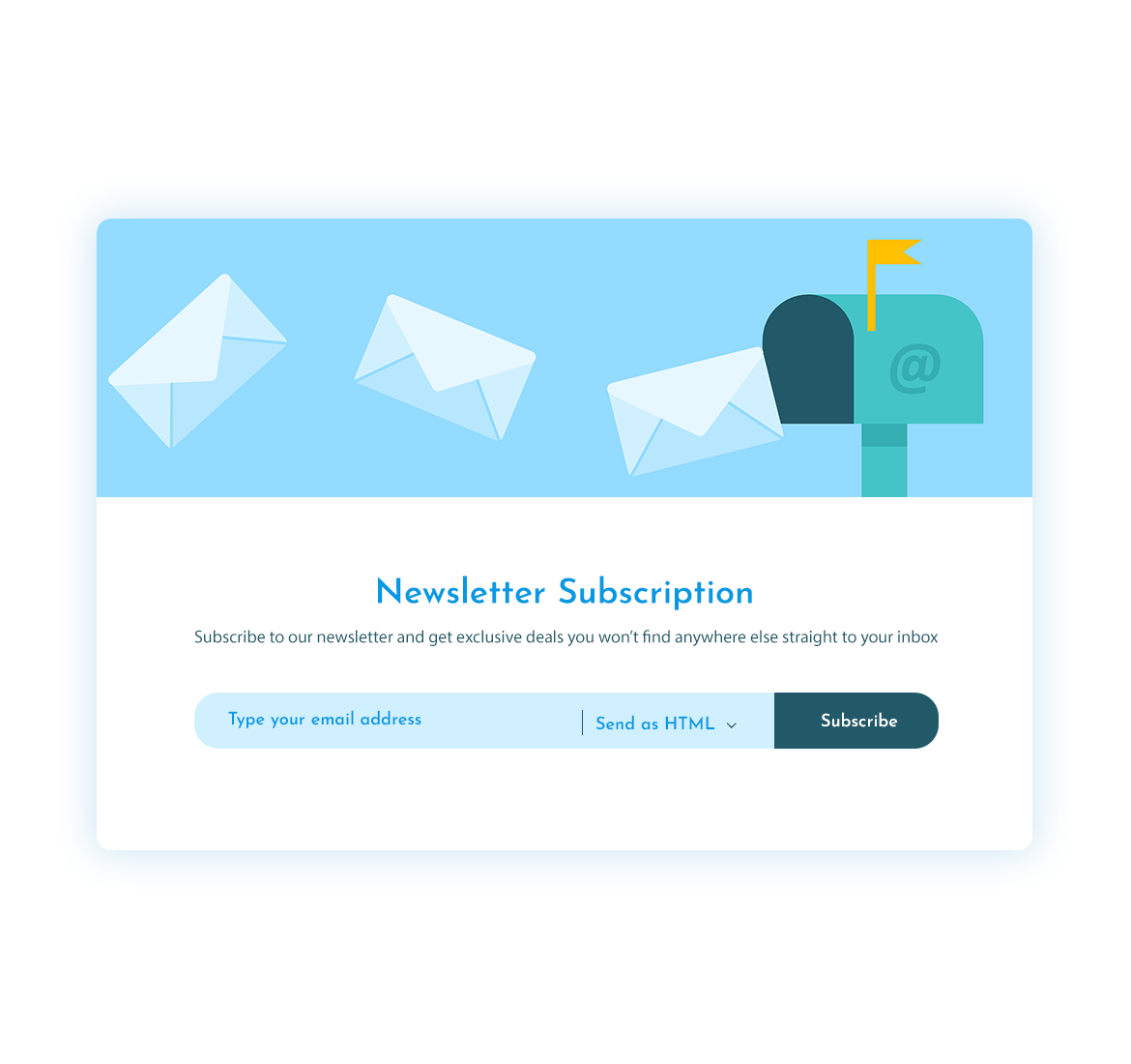 Subscribe Form Psd Subscribe Form Web Design Newsletter Subscription