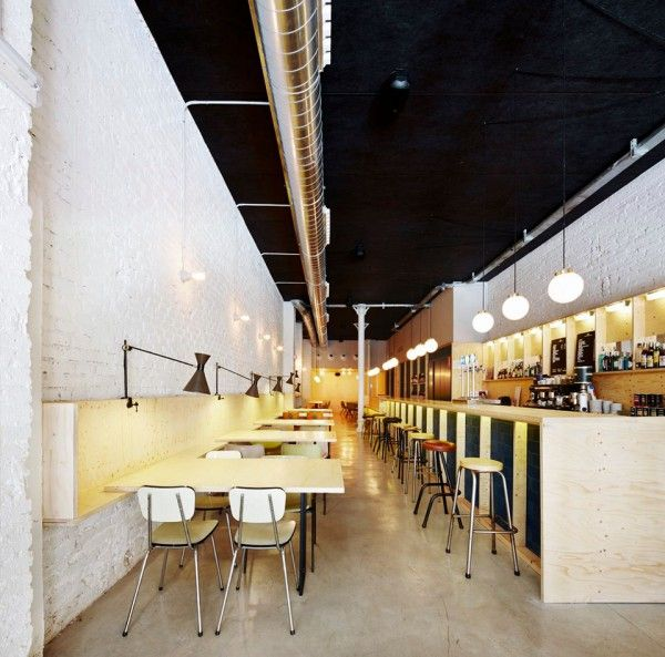 The oval restaurant in barcelona the place was designed - Flexo arquitectura ...