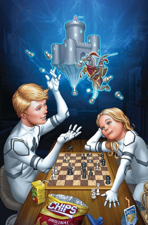 franklin valeria richards tattletale pinterest marvel