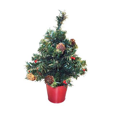 potted christmas table tree 12 non lit artificial potted table christmas tree american saleschristmas - American Sales Christmas Decorations