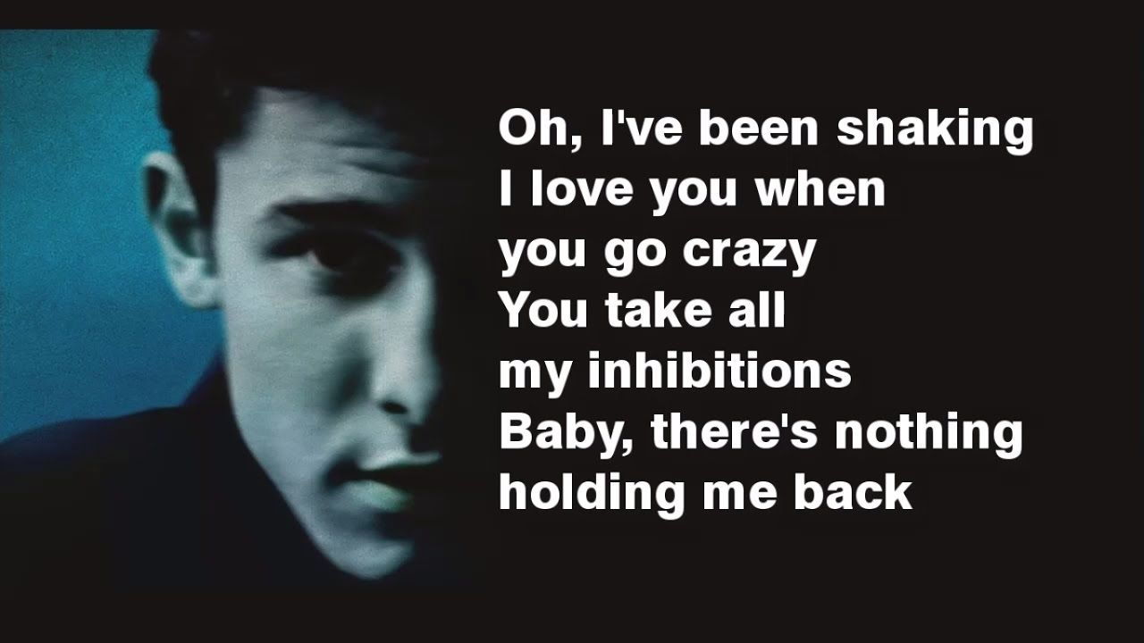 There S Nothing Holding Me Back Lyrics Shawn Mendes With Images