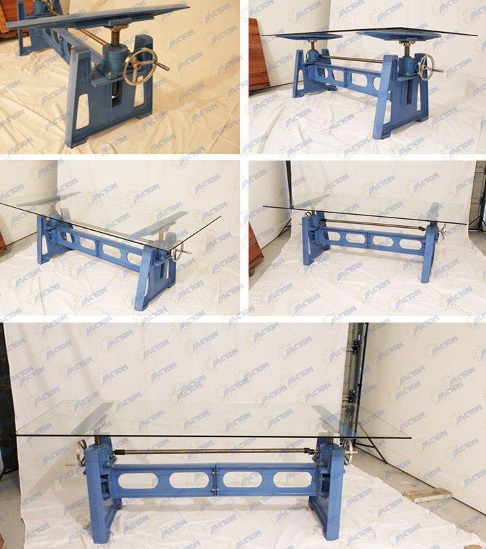 Hand Crank Desk Lift Mechanism Handle Table Wheel