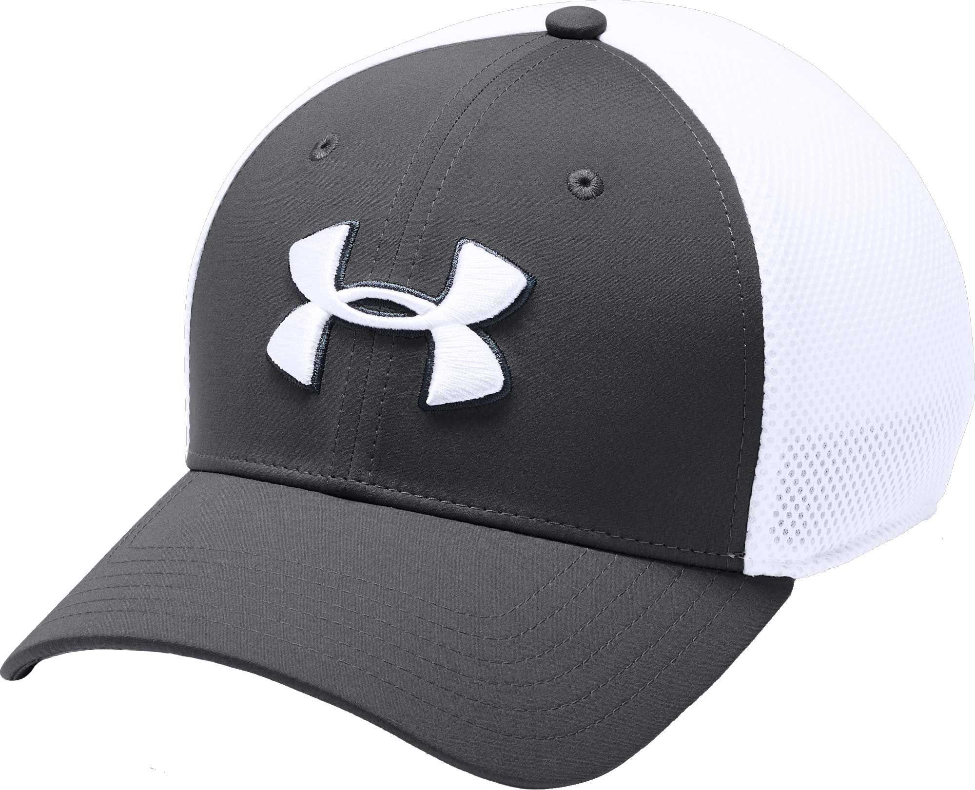 f270f63b5d1 Under Armour Men s Threadborne Mesh Golf Hat
