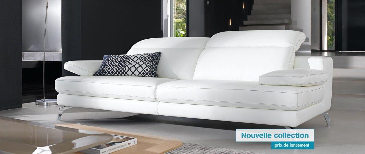 cuir center recife canap relaxation 3 places en cuir de. Black Bedroom Furniture Sets. Home Design Ideas