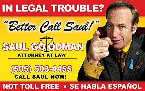 Saul Goodman Fun Fake Id License Movie Posters In 2019 Saul