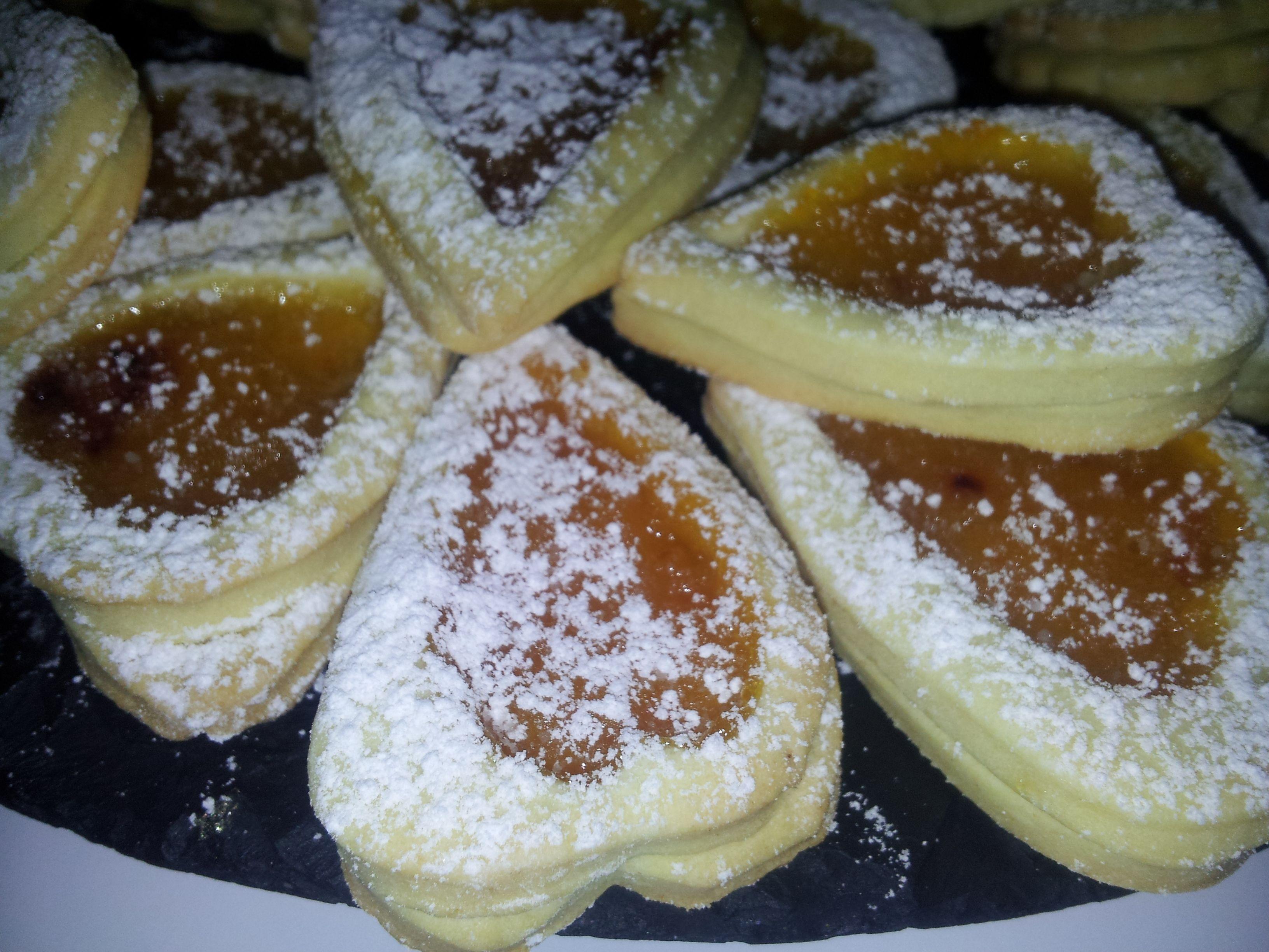 Pasticcini con marmellata di mandarini