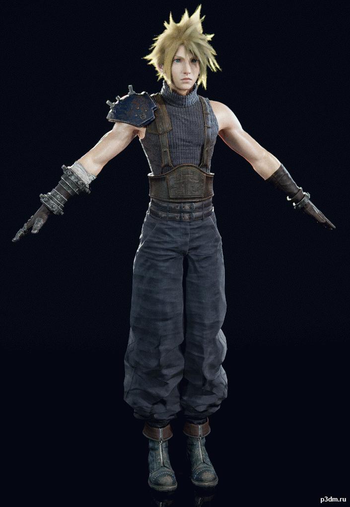 Пин на доске 3D models characters
