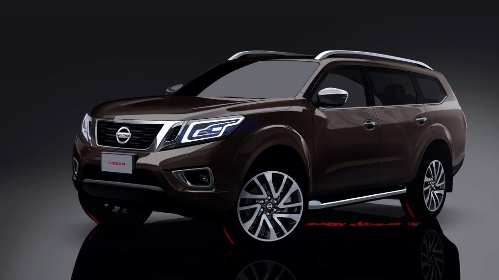 Nissan Navara-based SUV - Rendering | vehicles | Nissan ...
