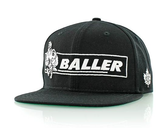 b53e7f98a81 Baller Snapback Cap by K1X