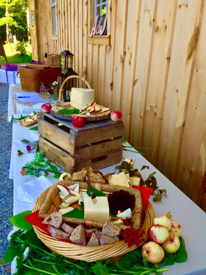 Appetizers Sheady Acres A Wedding Venue With Great Cottages