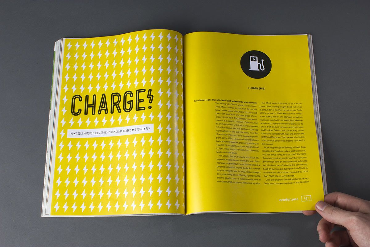 Wired Magazine: Electric Car Story   Page Layout Class   Pinterest ...