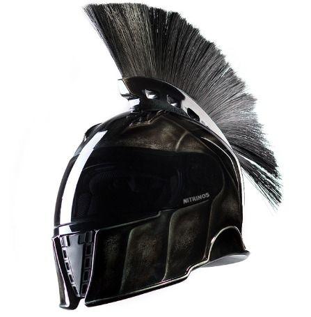 Spartan Motorcycle Helmets Hat Helmets Head Cool