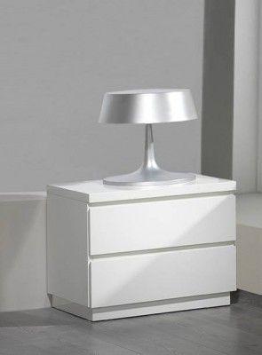 Mesillas de noche blancas ikea dormitorio room bedside table inspiration y bedroom - Mesitas de noche en ikea ...