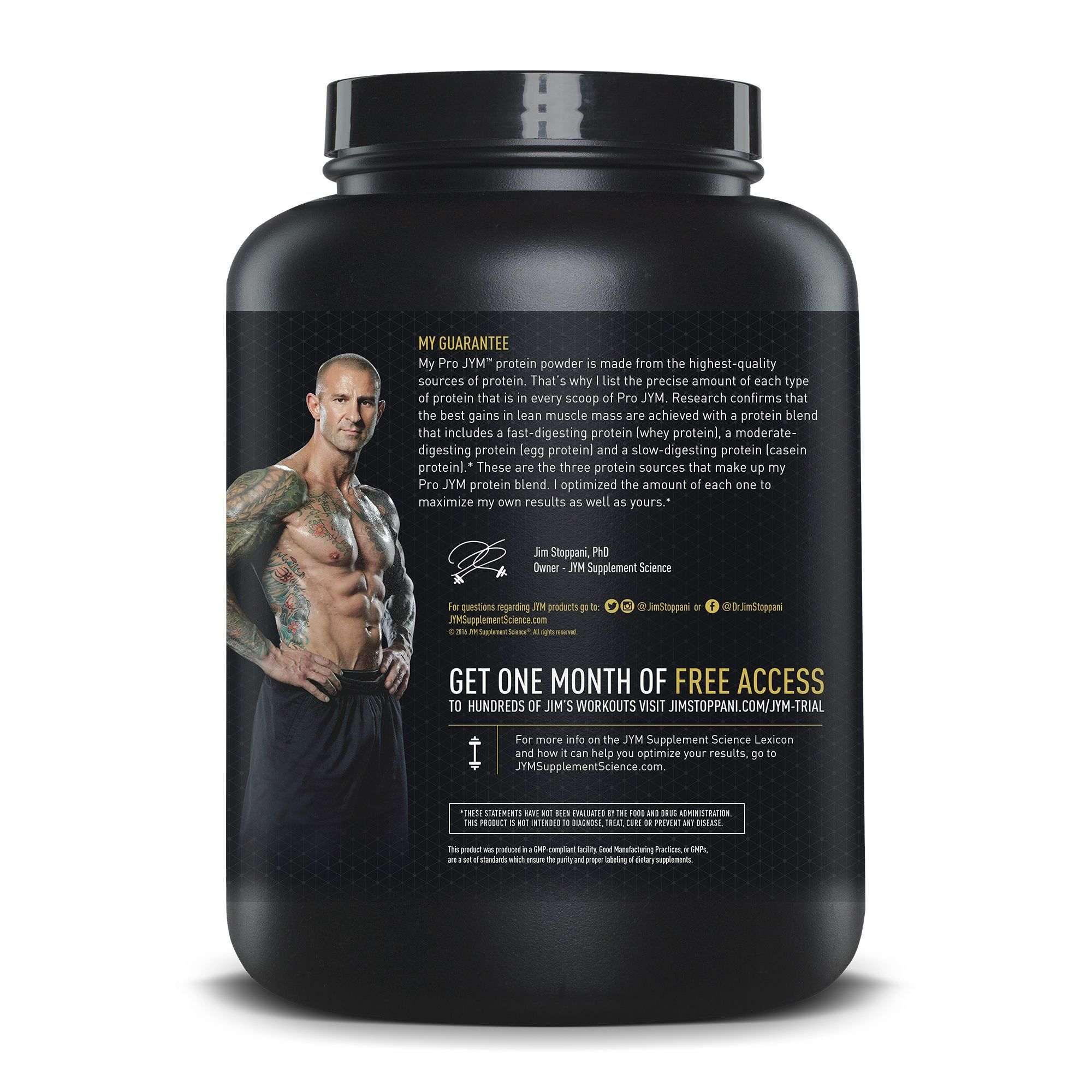 JYM Supplement Science Pro Root Beer Float 4 Pound