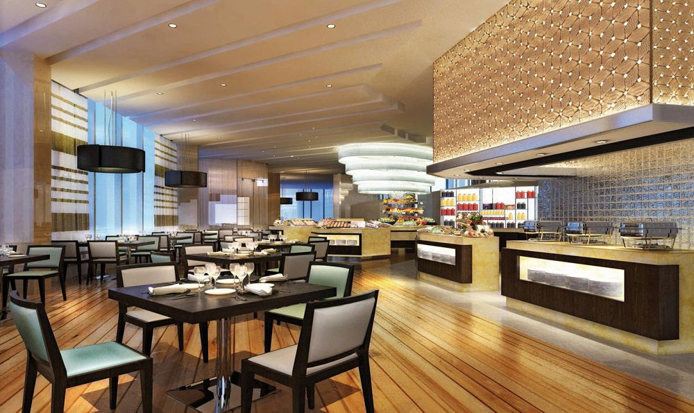 4 Star Restaurant Interiors Sheraton Opens First 5 Star