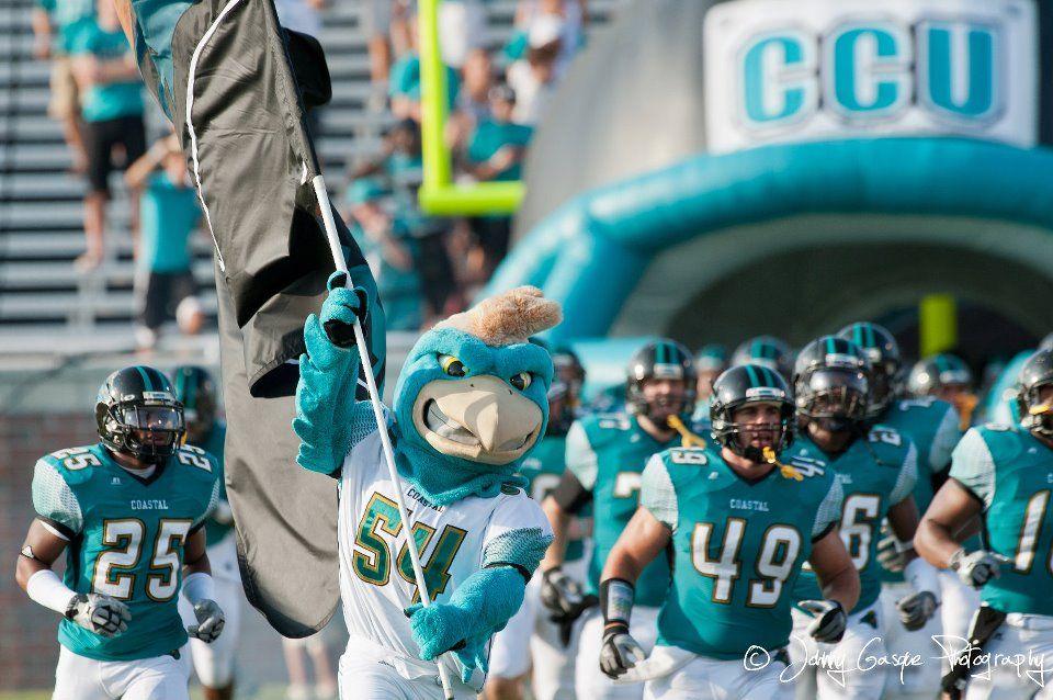 Carry The Flag Coastal Carolina Coastal Carolina University Carolina Football