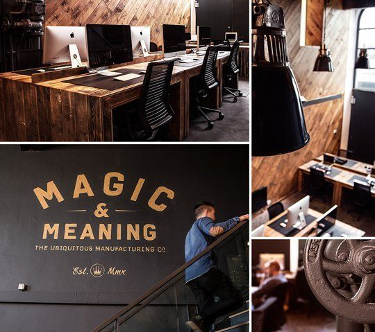 Magic And Meaning The Offices Of Ubiquitous Office Interiors Cool Office Workspace Design