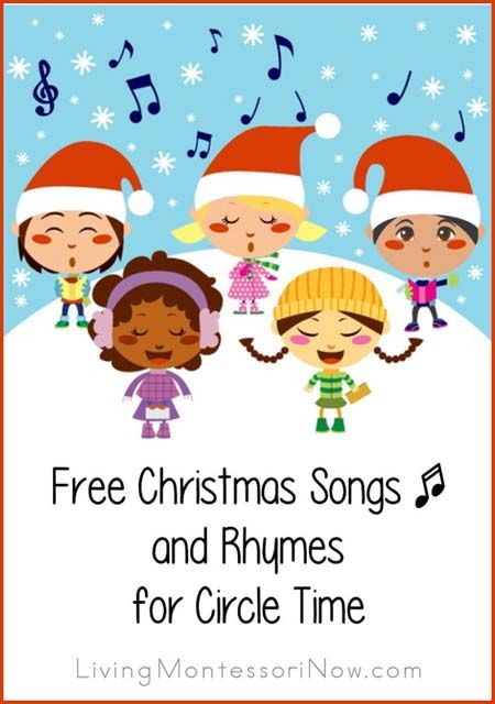 free christmas songs and rhymes for circle time living montessori now posts preschool. Black Bedroom Furniture Sets. Home Design Ideas