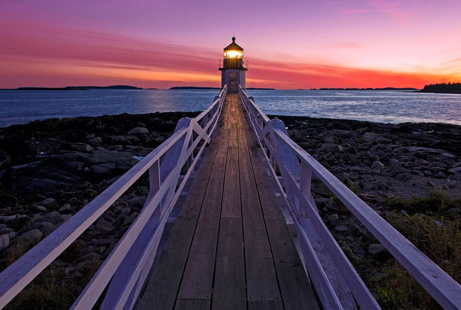 Marshall Point Light by Claus Cheng on 500px