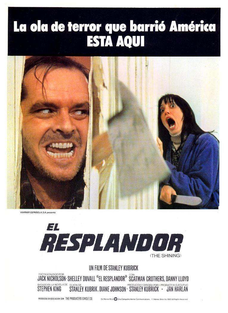 El Resplandor 1980 El Resplandor Cine Y Literatura Stanley Kubrick