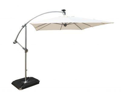 Absalon Modern Umbrella White