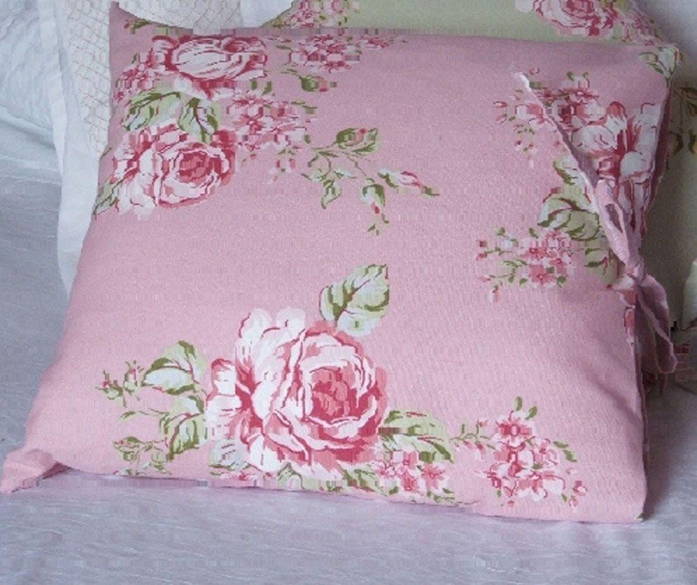 shabby chic english rose cushion pink fabrics from london house rh pinterest com au  shabby chic upholstery fabric for sale