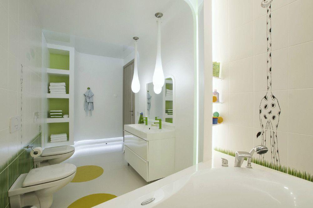 Dise o de penthouse ultra moderno apartamento de lujo - Ver disenos de banos ...