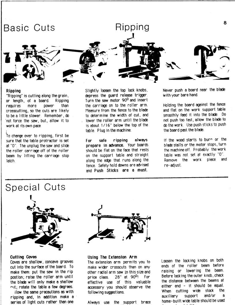 INCA 810 Radial Saw - Album on Imgur | Shop | Shopping