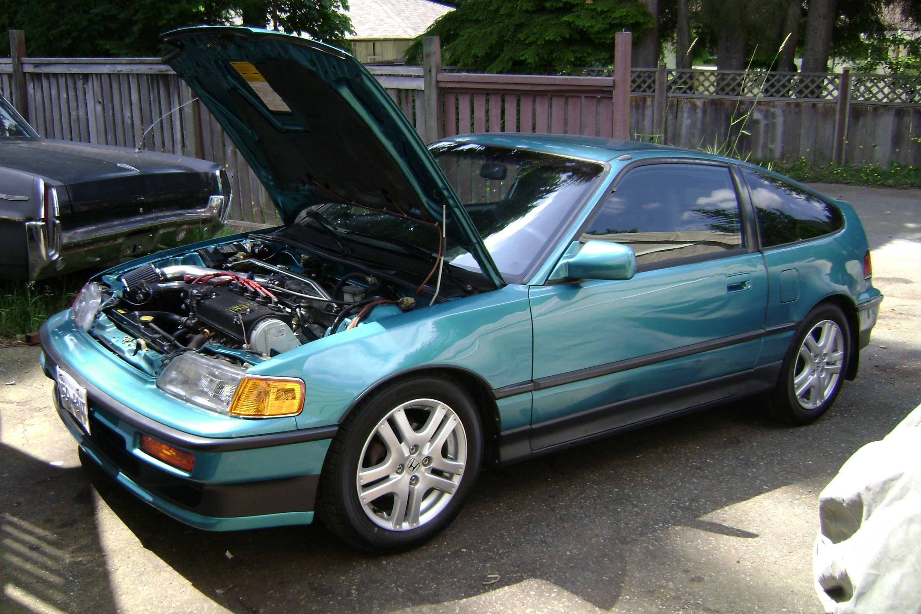 My 1991 CRX SI after SOHC ZC swap   Automotive   Pinterest   Honda ...