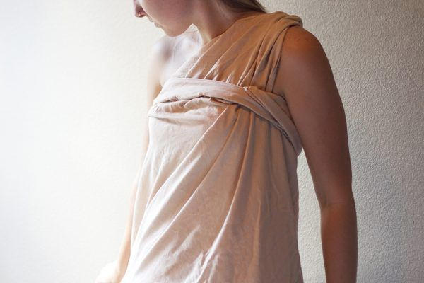 How to Make a Simple Girl Toga Out of a Bed Sheet | eHow