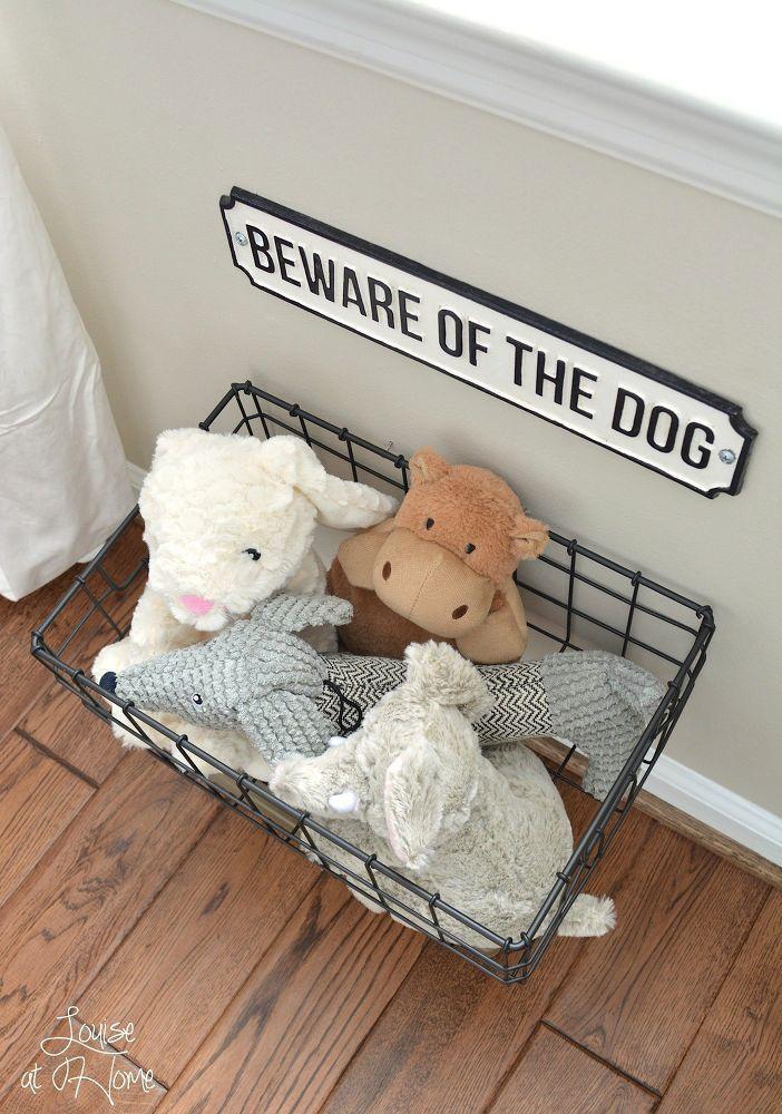 Hanging Dog Toy Storage Dog Toy Storage Dog Room Decor Animal Room