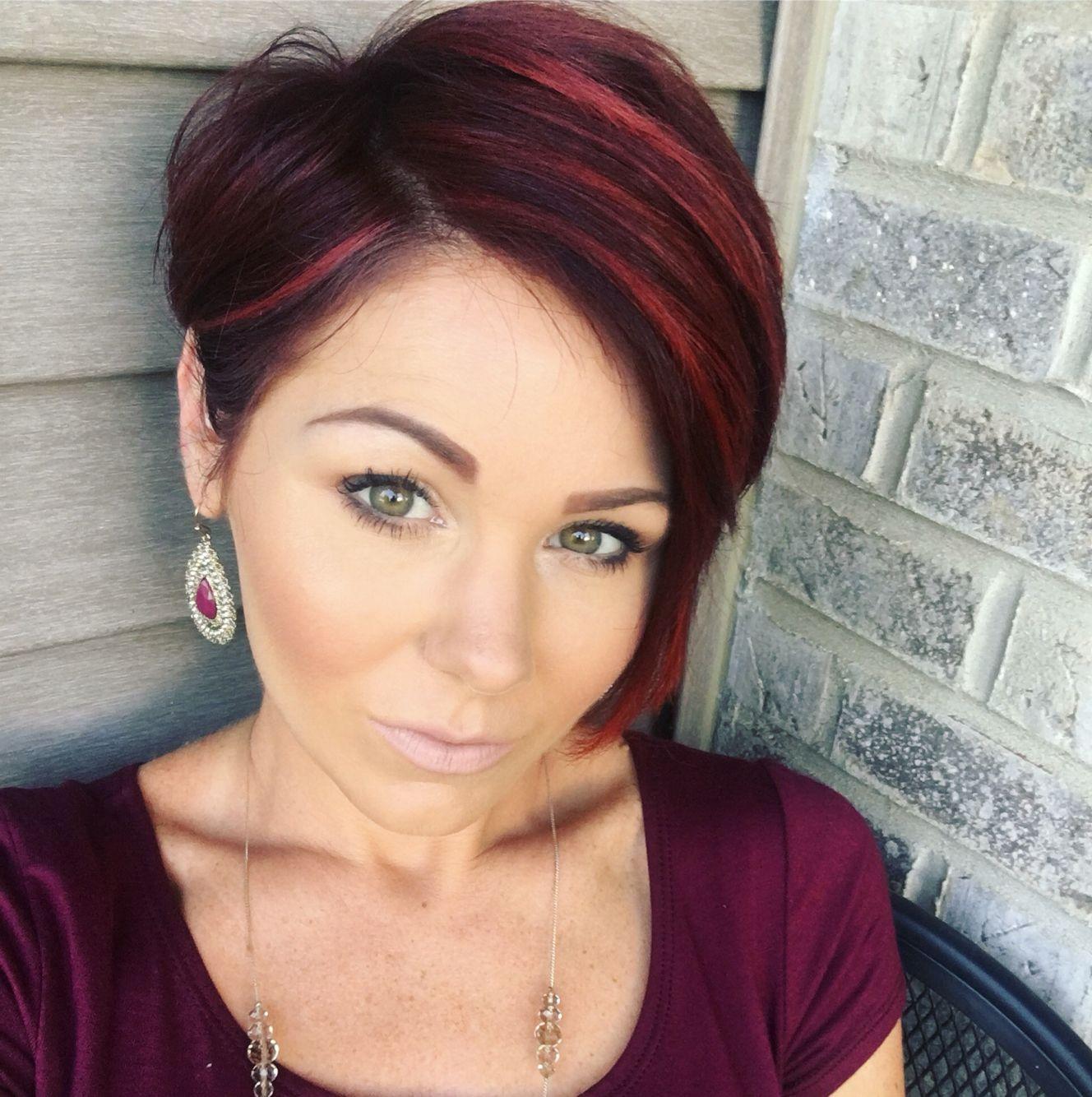 #redhair #pixie #shorthair