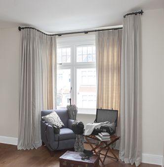 French Style Curtain Rods For Alcoves And Bay Windows Enquire