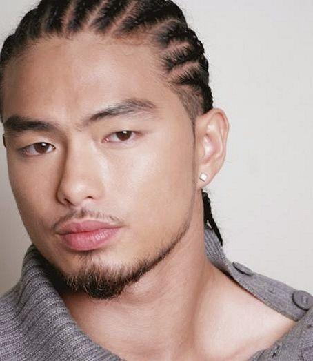nattes coll es homme asiatique cheveux pinterest coiffure homme coiffure et nattes coll es. Black Bedroom Furniture Sets. Home Design Ideas