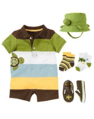 b7f3170e2832 Gymboree - Baby Seashore   Turtle-y Cute 4 9 12