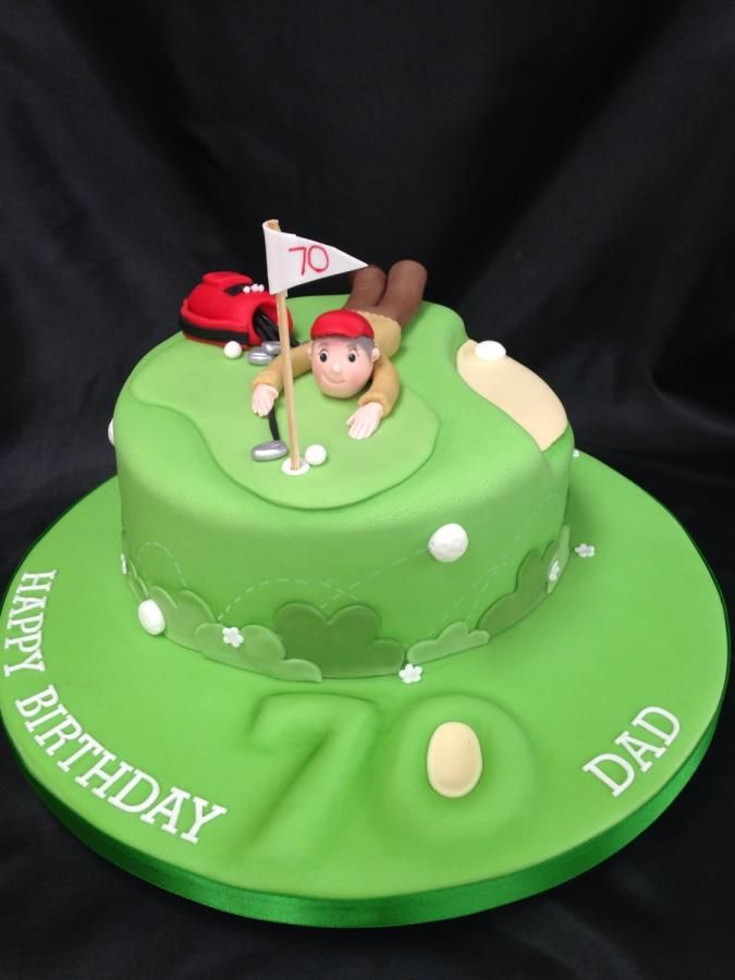 Fore Cake By The Cake Bank Golf Cake Pinterest Cake And