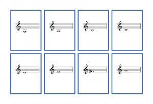 photo about Printable Music Flashcards called Cost-free, printable flash playing cards for violin notereading. Involves