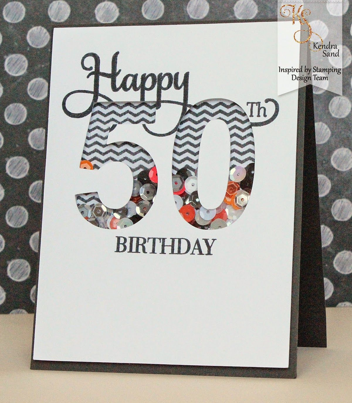 50th Birthday Cards Cricut: Luv 2 Scrap N' Make Cards: Happy 50th With Inspired By