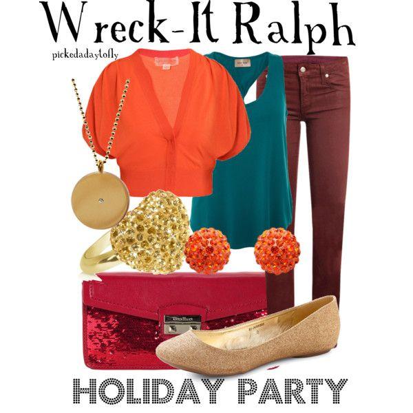 """Wreck-It Ralph"" by pickedadaytofly on Polyvore"