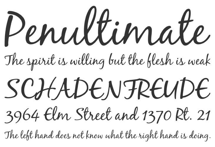 60 Free Calligraphy Fonts to Bring Charm to Your Designs ...