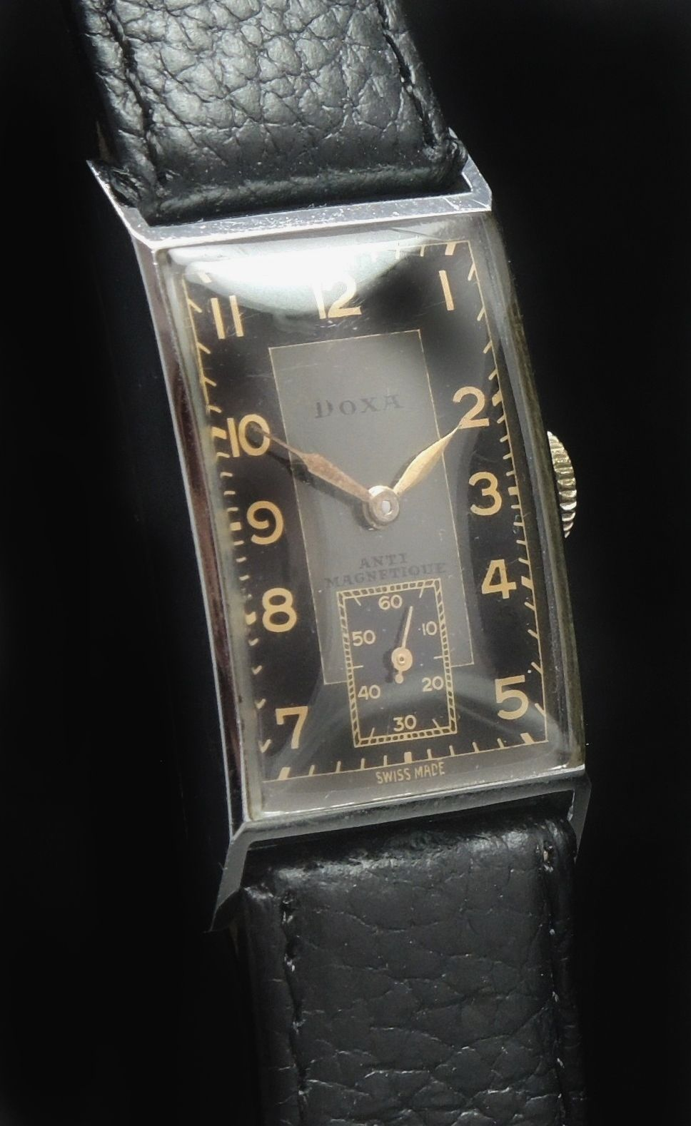 Doxa Vintage Watch Gilt Two Tone Dial Ladies Lady | Vintage Portfolio #vintagewatches