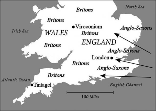 Map Of Ireland 500 Ad.Archaeologists May Have Discovered The Birthplace Of King Arthur