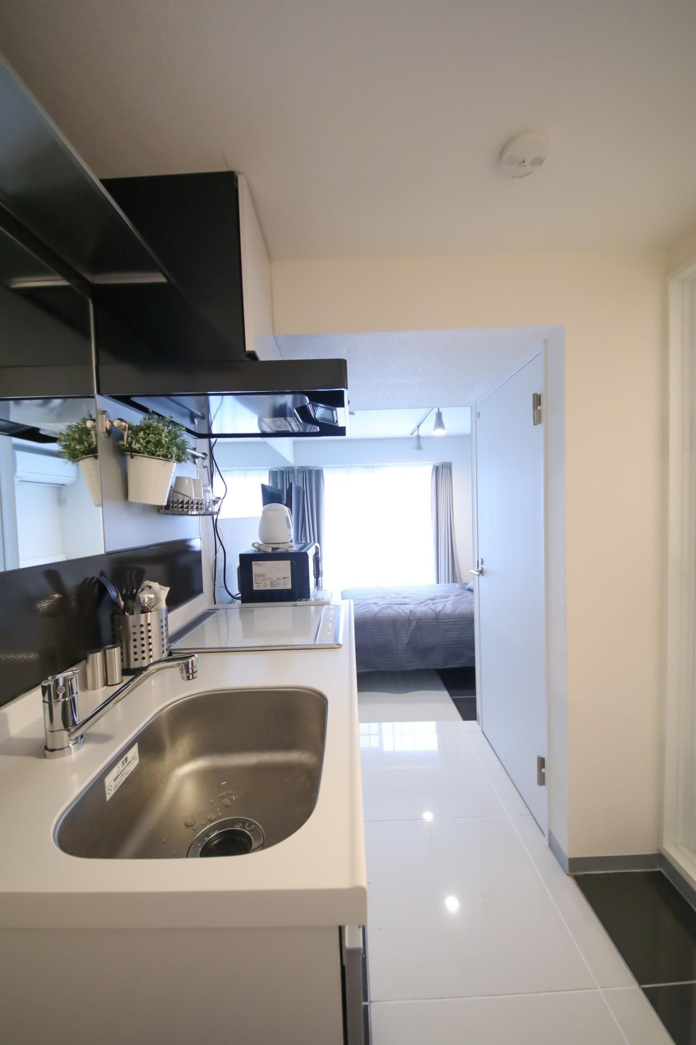 1r Apartment In Central Tokyo Short Term Fully Furnished 99 400 Mo 874 38 Including Internet Utilities And Wifi Built 2017